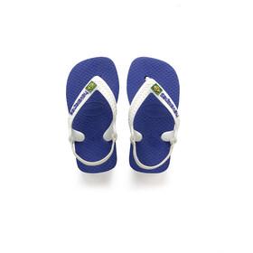 havaianas Brasil Logo II Sandały Dzieci niebieski